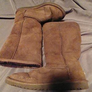 Tall Ugg boot